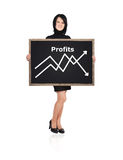 Chart profits Royalty Free Stock Photography