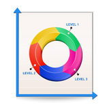 Chart. Reports Royalty Free Stock Image
