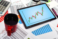 Chart Royalty Free Stock Images