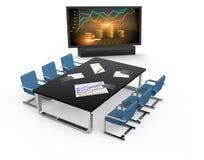 Chart trading Stock Image