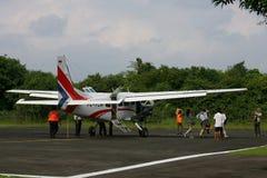 Charter aircraft Stock Photo