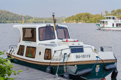 Charter boat, Escargot VITESSE Stock Photography