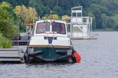 Charter boat, Escargot VITESSE Stock Photo