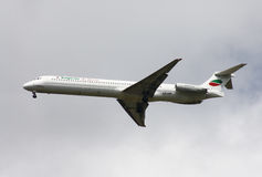 Charter bulgare Mcdonnell Douglas MD-82 Photo stock
