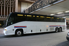 Charter Bus Stock Image