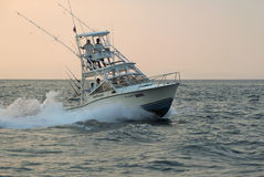 Costa Rican Charter Fishing Boat Royalty Free Stock Photos