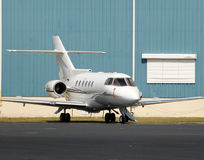 Charter jet Royalty Free Stock Images