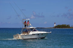 Charter Sport Fishing Boat Royalty Free Stock Image