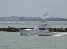 Chartered Sports Fishing Boat Royalty Free Stock Photo
