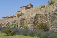 Charterhouse/abbotskloster av La Verne Royaltyfri Bild