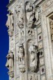 Charterhouse av Pavia - Certosa di Pavia, Italien royaltyfri bild