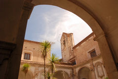 CHARTERHOUSE DI PADULA, SA, ITALIA Fotografie Stock
