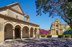 Charterhouse of Jerez de la Frontera. A monastery in Jerez de la Frontera, It is also known as la Cartuja de Jerez de la Frontera or Charterhouse of Santa Mar stock image