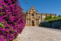 Charterhouse of Jerez de la Frontera Royalty Free Stock Image