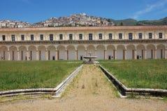 CHARTERHOUSE OF PADULA,SA,ITALY. CHARTERHOUSE SAN LORENZO,PADULA,SA,ITALY Royalty Free Stock Images