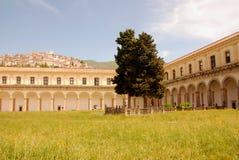 CHARTERHOUSE OF PADULA,SA,ITALY. CHARTERHOUSE SAN LORENZO,PADULA,SA,ITALY Royalty Free Stock Photography