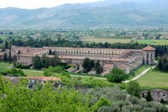 CHARTERHOUSE OF PADULA,SA,ITALY. CHARTERHOUSE SAN LORENZO,PADULA,SA,ITALY Royalty Free Stock Image