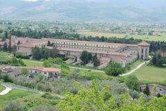 CHARTERHOUSE OF PADULA,SA,ITALY. CHARTERHOUSE SAN LORENZO,PADULA,SA,ITALY Royalty Free Stock Photos