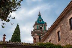 Charterhouse van Valdemossa Stock Afbeeldingen