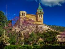 Charterhousen i Valldemossa Fotografering för Bildbyråer