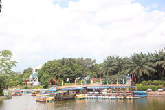 Chartering port in SHENZHEN ZHONGSHAN PARK Royalty Free Stock Image