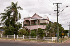 Charters Towers. Old and Ancient House at Charters Towers Queensland Australia Royalty Free Stock Photo