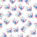 Charticon combiné dans le style de modèle Un icône de diagrammes et de Diagramms de collection peut être employé pour UI, UX illustration de vecteur