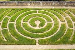 Chartres - λαβύρινθος Στοκ εικόνες με δικαίωμα ελεύθερης χρήσης