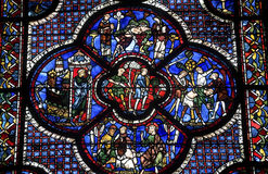 Chartres - собор Стоковая Фотография