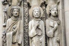Chartres - собор Стоковые Изображения