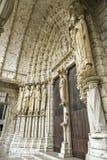 Chartres - собор Стоковые Фото