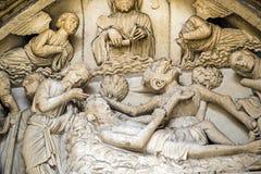 Chartres - собор Стоковое Изображение