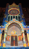 Chartres-Ablichtung lizenzfreies stockfoto