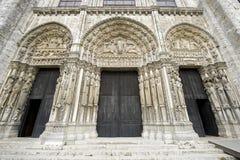 Chartres - catedral Imágenes de archivo libres de regalías