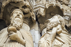 Chartres - Cathedral Royalty Free Stock Images