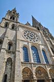 Chartres cathedral in  Eure et Loir Stock Photos