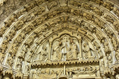 Chartres cathedral in  Eure et Loir Royalty Free Stock Image