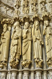 Chartres cathedral in  Eure et Loir Royalty Free Stock Photography