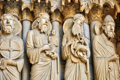 Chartres cathedral in  Eure et Loir Stock Photo