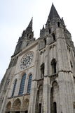 Chartres cathedral, France Stock Image