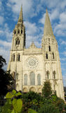 Chartres cathedral, France. Europe. Catholic christian cathedral Stock Photos