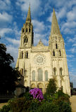 Chartres cathedral, France. Europe. Catholic christian cathedral Stock Images