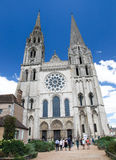 Chartres Cathedral Royalty Free Stock Photography