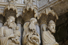Chartres Cathedral Royalty Free Stock Images
