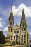 Chartres Cathedrale Stock Afbeeldingen