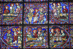Chartres - domkyrka Fotografering för Bildbyråer