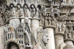 Chartres - domkyrka Royaltyfri Fotografi