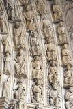 Chartres - domkyrka Royaltyfri Foto