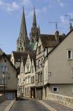 chartres france royaltyfri fotografi