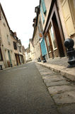 Chartres in France. Small street in the town called Chartres Royalty Free Stock Photo